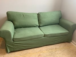 Sofa bed love seat and new cover