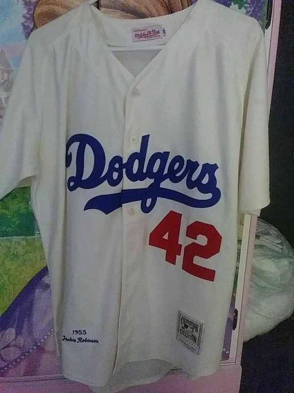 official photos d06ce ae5a2 Authentic Jackie Robinson Jersey