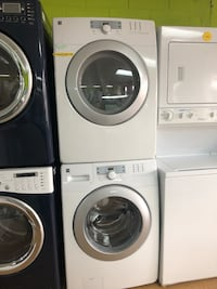 Kenmore white stacked washer and dryer set  Woodbridge, 22191