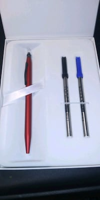 Cross click gel ink pen very nice gel pen it write
