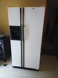 white side-by-side refrigerator with dispenser Massillon, 44647