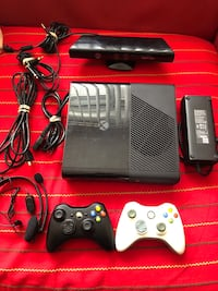 Xbox 360 E Model 1538 3GB RAM 250gb + 2 controllers + Kinect  Montreal, H1G 2Y1