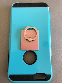 blue and brown iPhone case Surrey, V3S 7B5