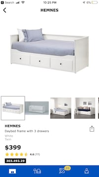 Ikea Hemnes Day Bed Expandable 10/10  546 km