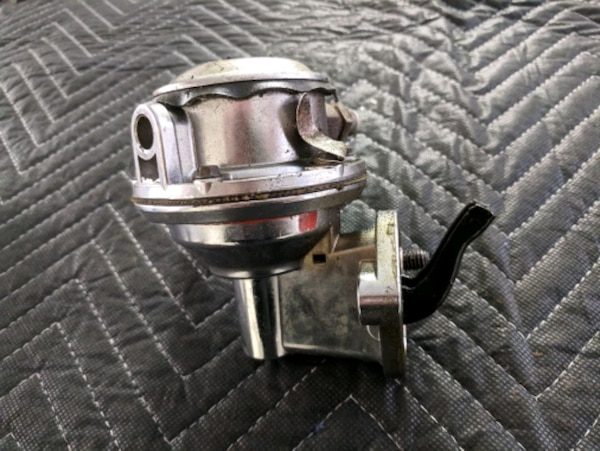 Mechanical fuel pump from a small block Chevy  4a5926ab-f9ee-4d06-ad65-902f5022b9b3
