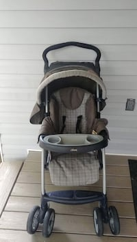 baby's gray and black Graco stroller Loganville, 30052