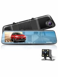 New Dash Cam 5 inches Touch Screen Front and Rear Dual Lens 1080p