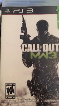 PS3 Call of duty MW3 Coquitlam, V3K 6Y8