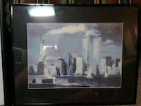 World trade center painting with frame Upper Darby, 19082