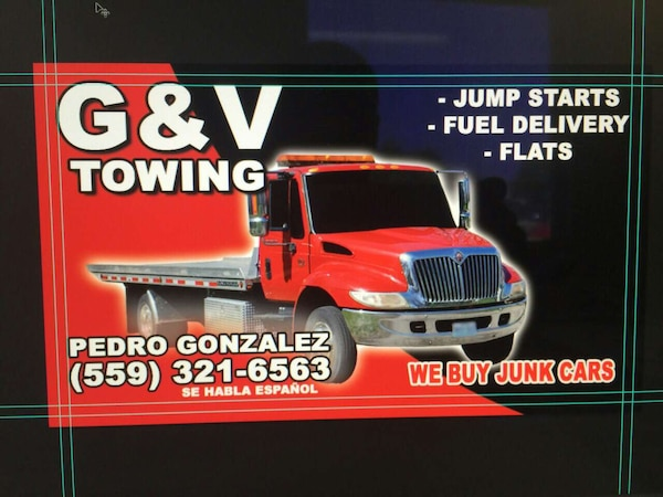 Used gv towing business card for sale in fresno letgo chat colourmoves