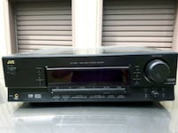 black and gray Sony stereo component