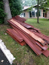Reclaimed Red wood siding Eau Claire, 54701