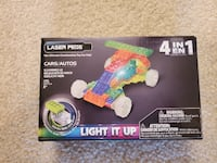 Laser Pegs 4-in-1 Race Car, never opened Tysons