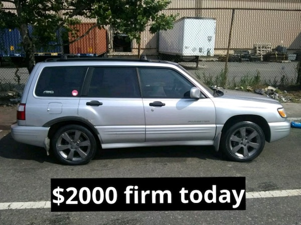 Used 2003 subaru forester s awd sport for sale in newark letgo 2003 subaru forester s awd sport freerunsca Images