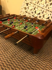 green and brown foosball table Springfield