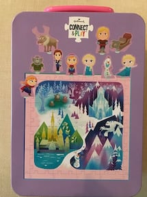 Hallmark Connect & Play Puzzle | Frozen