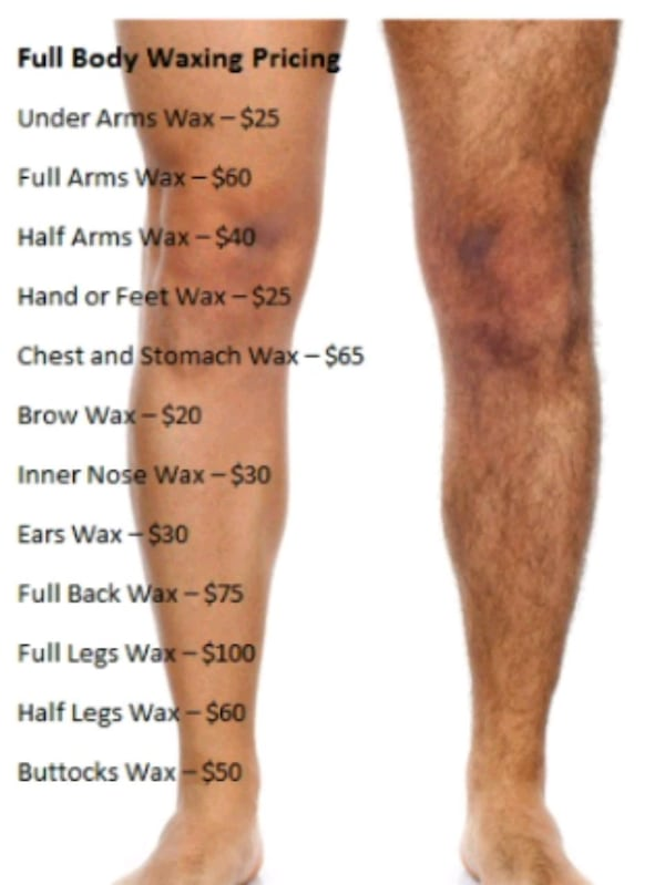 Waxing, Shaving and Trimming for Male  b088772b-3c3e-4e23-80b6-a54bdfe8a0f9