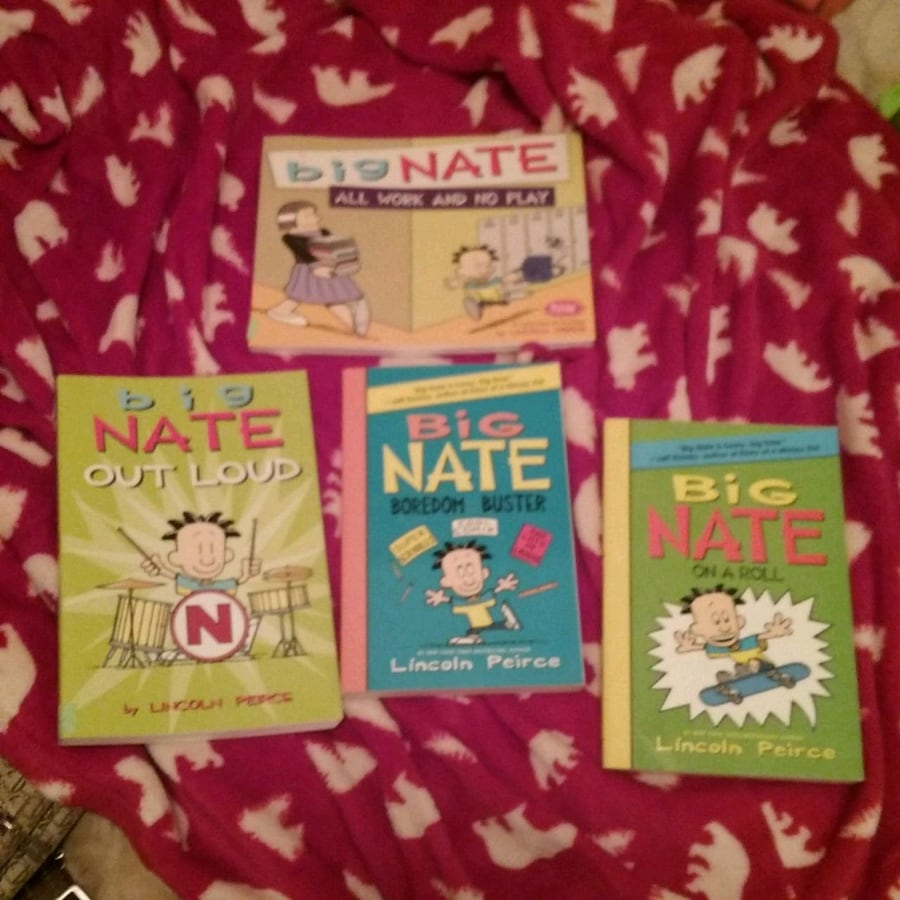 Lot of big Nate books