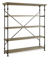 French Industrial Style Shelving Unit/ Bakers Rack Aldie
