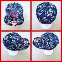 AUTHENTIC MLB BASEBALL SNAPBACK HAT.