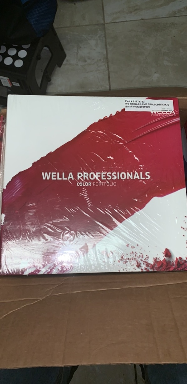 Wella professionals color portfolio