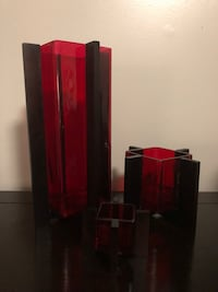 Ruby Red Candle Vessel Set Dunwoody, 30338