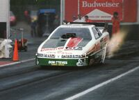 4x6 Color Drag Racing Photo JOHN FORCE Castrol GTX Olds Funny Car Atco 1994 Smyrna