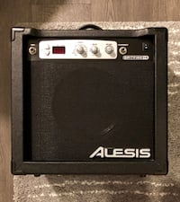 Black and gray crate guitar amplifier Toronto, M6K