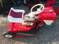 red, black, and white ride-on machine San Marcos, 78666