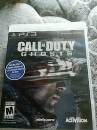 Call of Duty Ghosts PS3 game case Papillion, 68046