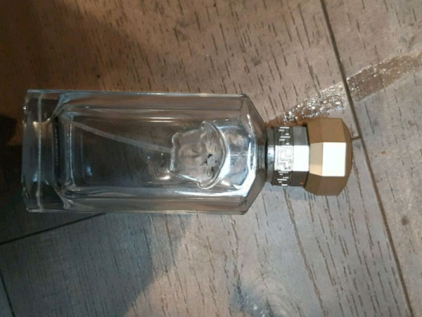 Empty versace bottle  40a82c25-070f-4f49-9767-955a24bd46e7