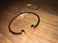 Women jewelry (2 cuffs) one T shaped, one with devil eye Montréal, H3H 2S8