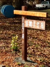 Taking orders for address signs.... Anderson, 29626