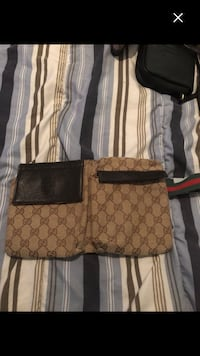 Nice Gucci fanny pack fake but looks real must sell by Wednesday 12 782 km