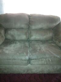 brown fabric 3-seat sofa Fayetteville, 28304