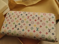 Lv wallet limited white (brand new)