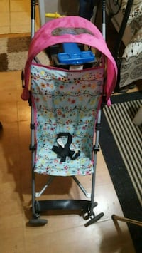baby's pink and blue floral stroller Hamilton, L8E 1J7