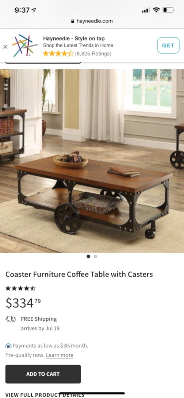 Excellent Coaster Furniture Coffee Table With Casters Camellatalisay Diy Chair Ideas Camellatalisaycom