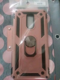 Lg Stylo 5 New phone Case - Rose Gold/Black Cover