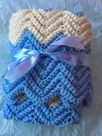 *Great Baby Shower Gift* Handmade Boy Blanket (had made and don't need it now) $20 FIRM  Trenton, K8V 2X8