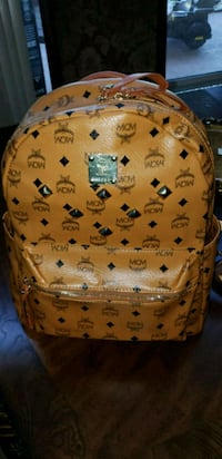 brown MCM leather backpack with box Oviedo, 32765