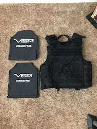 Plate carrier with plates  null