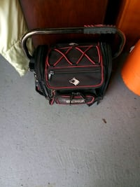 black and red duffel bag Justice, 60458