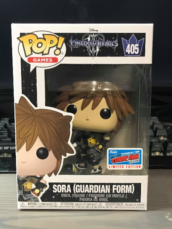 FUNKO POP Kingdom Hearts 3 SORA (Guardian Form) NYCC 2018 Exclusive ... c98a649fea5d