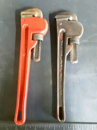 Pipe wrench.