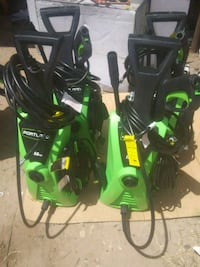 green and black pressure washer Mission, 78574