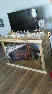 Handcrafted TV Stand