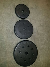 BRAND NEW 1 inch weights  Mississauga, L5A 1W9