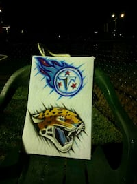 two sports logo stickees Hagerstown