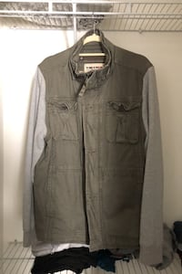 "Triple Five Soul ""spring jacket"" (size LARGE) negotiable  Vaughan"